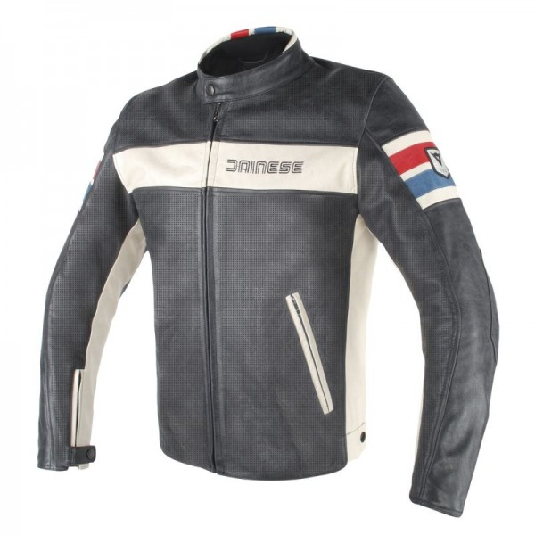 DAINESE HF D1 PERF. LEATHER JACKET