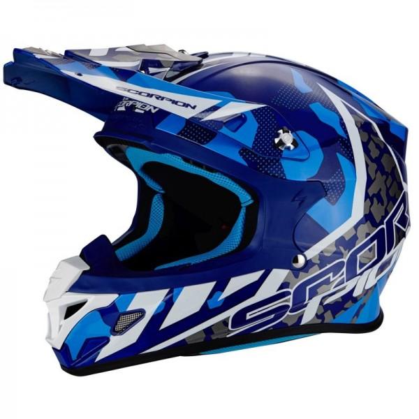 SCORPION VX 21 AIR FURIO Blue-White