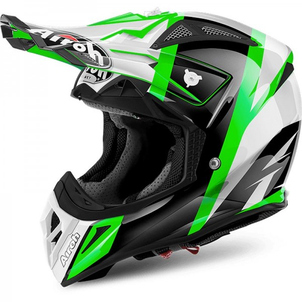 AIROH AVIATOR 2.2, Revolve, green gloss