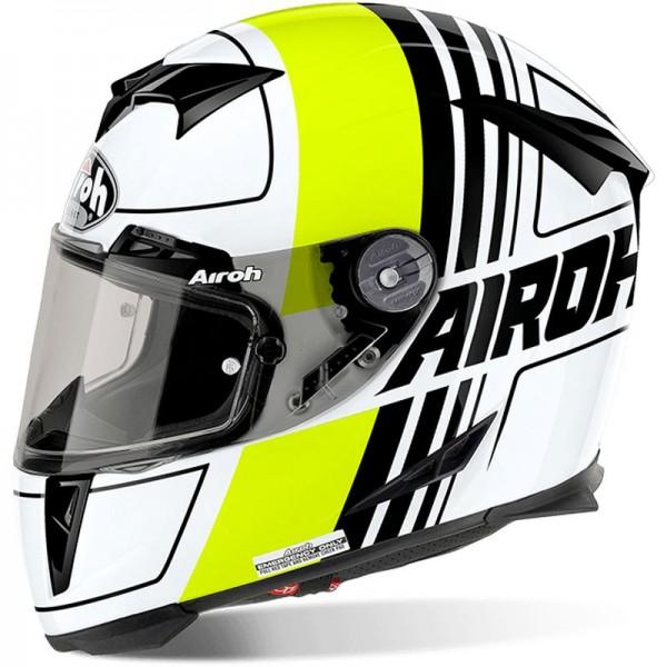 AIROH GP 500, Scrape, yellow gloss