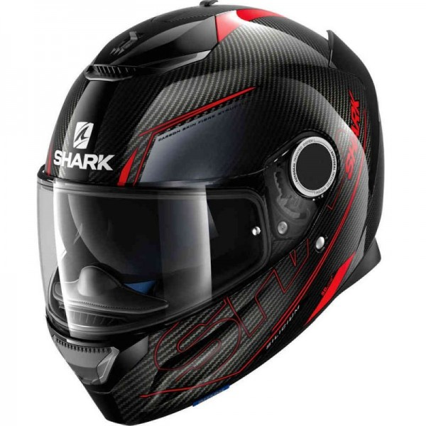 SHARK SPARTAN CARBON SILICIUM color Carbon Red Anthracite