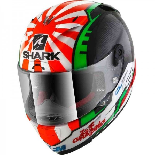 SHARK RACE-R PRO ZARCO REPLICA color Black Red Green
