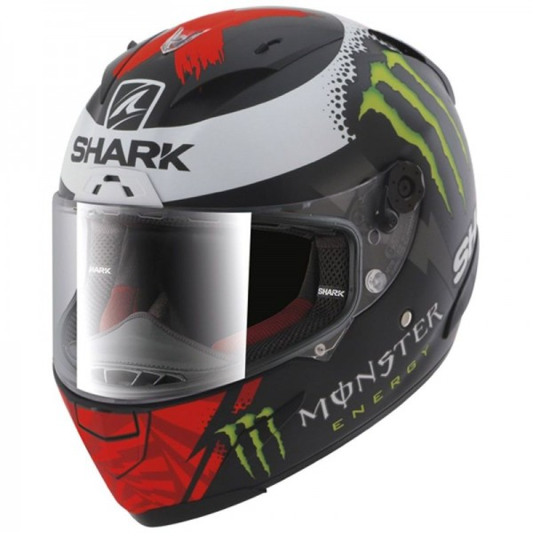SHARK RACE-R PRO LORENZO Monster mat2017 color Black White Red