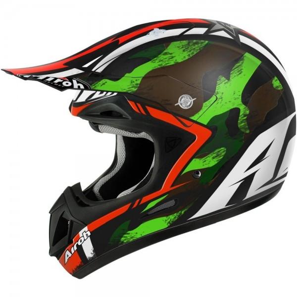 Airoh Helmet Jumper Warrior Green