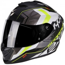 SCORPION EXO 1400 AIR TRIKA White-Black-Neon yellow