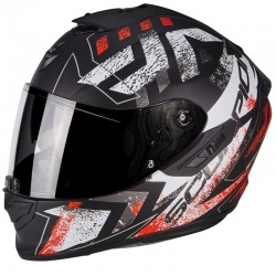 SCORPION EXO 1400 AIR PICTA Matt black-Neon red