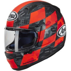 ARAI PROFILE-V PATCH FLUOR RED MATT