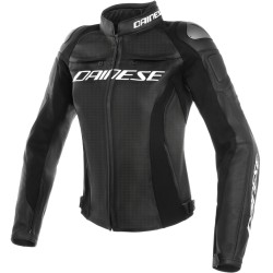 DAINESE RACING 3 LADY LEATHER JACKET PERFORATED