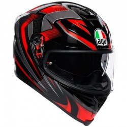 AGV K-5 S PLK HURRICANE 2.0 BLACK/RED