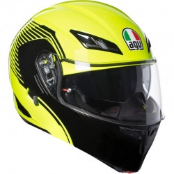 AGV COMPACT ST PLK VERMONT YELLOW FLUO/BLACK