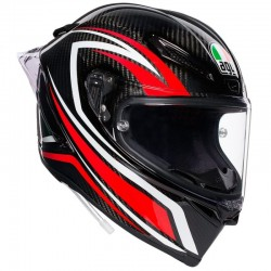 AGV PISTA GP R PLK STACCATA CARBON/RED