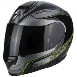 SCORPION EXO 3000 AIR STROLL Black-Silver-Neon yellow