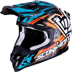 SCORPION VX-16 AIR ROK BAGOROS Replica Orange-Blue