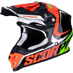 SCORPION VX-16 AIR ERNEE Black-Neon Red-Green