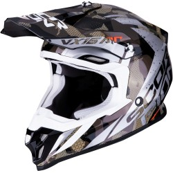 SCORPION VX-16 AIR WAKA Black-Silver