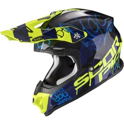 SCORPION VX-16 AIR ORATIO Black-Blue-Neon