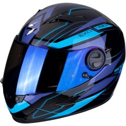 SCORPION EXO 490 NOVA Black-Blue