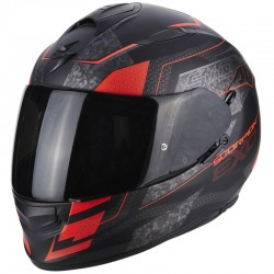 SCORPION EXO 510 AIR GALVA Matt black-Neon red