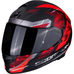 SCORPION EXO 510 AIR CLARUS Matt Black-Red