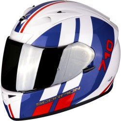 SCORPION EXO 710 AIR GT White-Blue-Red