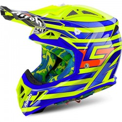 AIROH AVIATOR 2.2, Cairoli Qatar, yellow gloss
