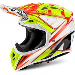 AIROH AVIATOR 2.2, Double, orange gloss