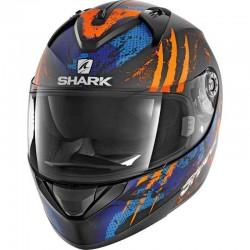 SHARK RIDILL THREEZY color Black Orange Blue MAT