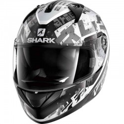 SHARK RIDILL KENGAL color White Black Silver