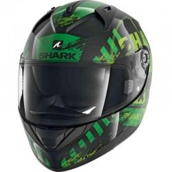 SHARK RIDILL SKYD color Black Green Green