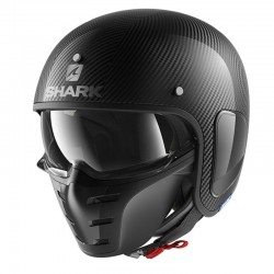 SHARK S-DRAK BLANK CARBON SKIN color Carbon Silver Black