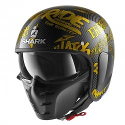 SHARK S-DRAK FREESTYLE CUP color Carbon Gold Gold