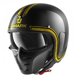 SHARK S-DRAK VINTA color Carbon Chrome Red Gold