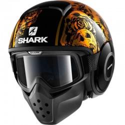 SHARK DRAK SANCTUS color Black Orange