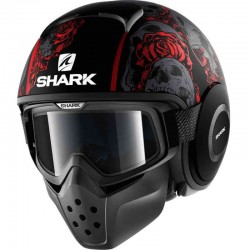 SHARK DRAK SANCTUS MAT color Black Red Anthracite