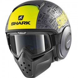SHARK DRAK TRIBUTE RM MAT color Anthacite Yellow Black