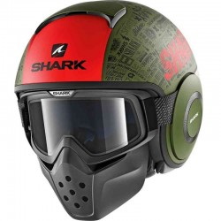 SHARK DRAK TRIBUTE RM MAT color Green Red Black Green Red Black