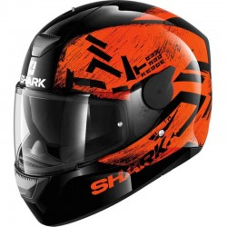 SHARK D-SKWAL HIWO color Black Orange Black