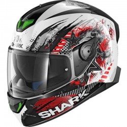 SHARK SKWAL 2 SWITCH RIDERS  color White Black Red