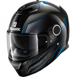 SHARK SPARTAN CARBON SILICIUM color Carbon Blue Anthracite