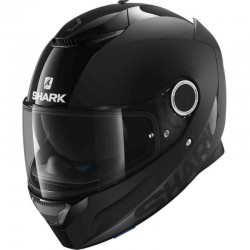 SHARK SPARTAN DUAL BLACK  color Black dual