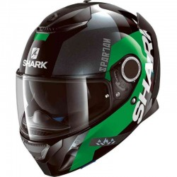 SHARK SPARTAN APICS color Black Green Anthracite