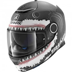 SHARK SPARTAN LORENZO REPLICA White color Black White Anthracite MAT