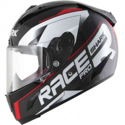 SHARK RACE-R PRO SAUER  color Black Anthracite Red