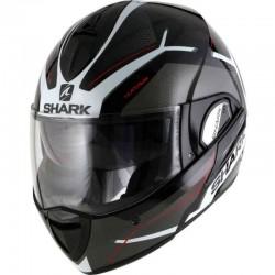 SHARK EVOLINE Series 3 HATAUM  color Black White Red