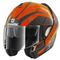 SHARK EVOLINE Series 3 HAUTUM HI -VIS  color  Orange Black Anthracite