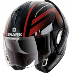 SHARK EVOLINE Series 3 CORVUS  color Black White Red