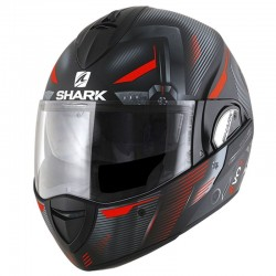 SHARK EVOLINE Series 3 SHAZER MAT color Black Red Silver MAT