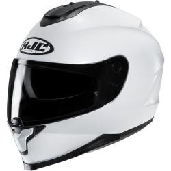 HJC C70 METAL / PEARL WHITE