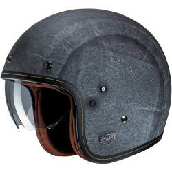 HJC FG-70s Vintage FLAT / Black