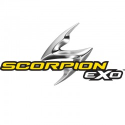 SCORPION EXO 510 AIR CROSS Matt black-Silver-Neon red